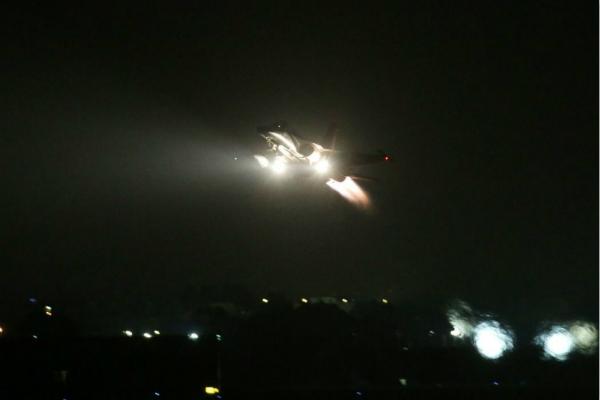 全台湾战机深夜紧急起飞!很不寻常