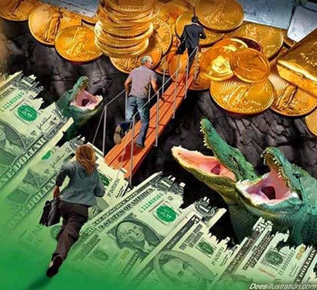中国钱突然持续贬值的背后  有大图谋