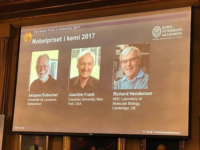 最新:诺贝尔化学奖揭晓 这3人夺冠