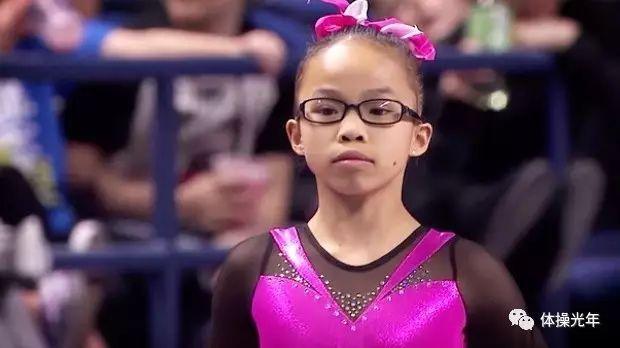 美籍华裔被收养女童  获女子全能冠军