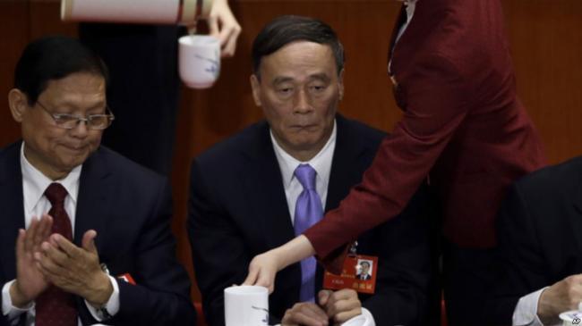 中纪委专栏停刊,暗示王岐山将退?