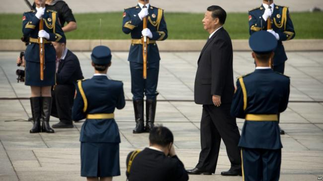 武警司令:习主席在紧要关头挽救了党