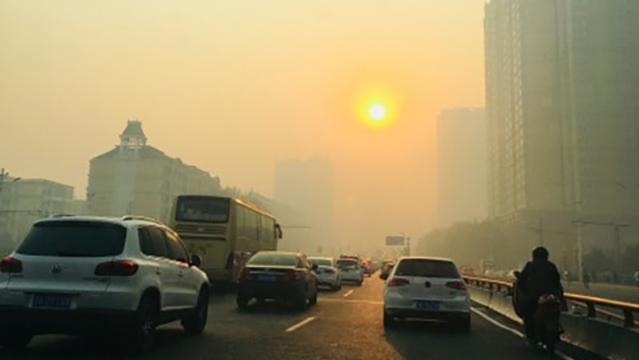 19大蓝天工程破功 北京雾霾灰���