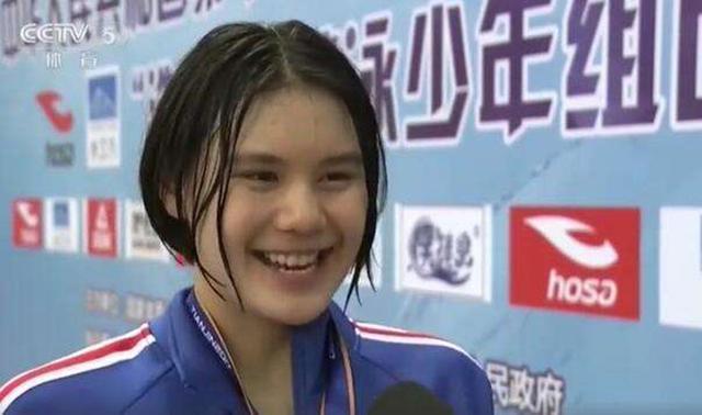 女版孙杨!中国泳坛诞生12岁新蝶后