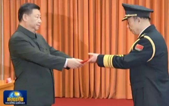 跻身中央军委8天后 唯一中将晋升上将