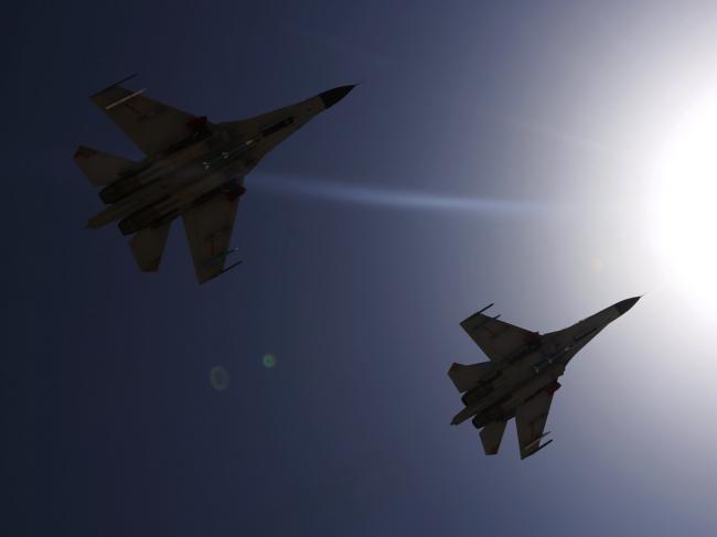 中国空军最大空战演习启幕