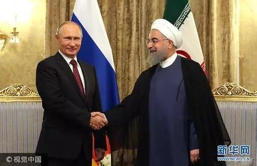 阿塞拜疆总统跑到伊朗拜见普京大帝