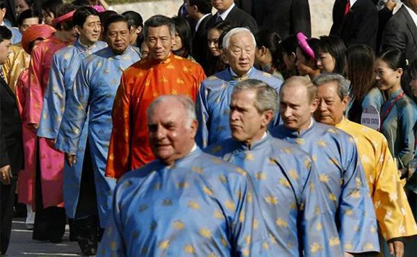 "APEC领导人又秀""最炫民族风""了"