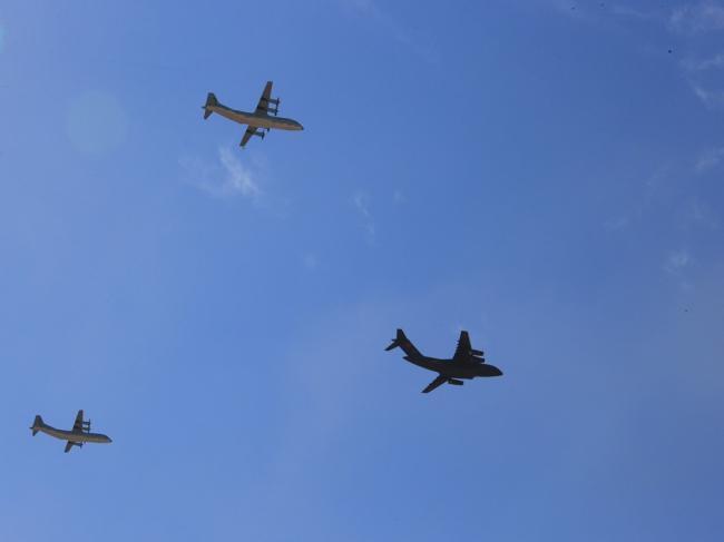 中国空军突破局限  已做好海外作战准备