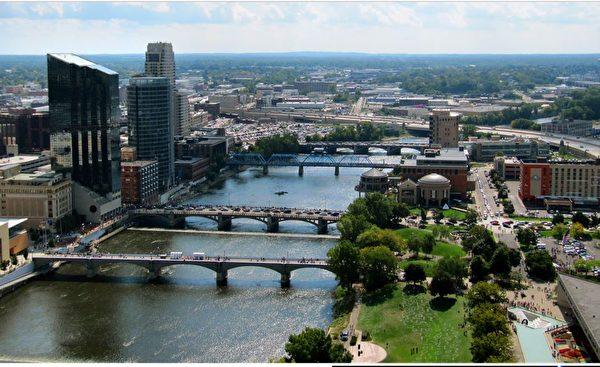 大急流城房价年增长率8.7%。(Wiki commons)