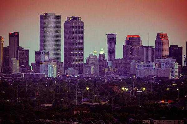 新奥尔良房价年增长率9.8%。(Wiki commons)