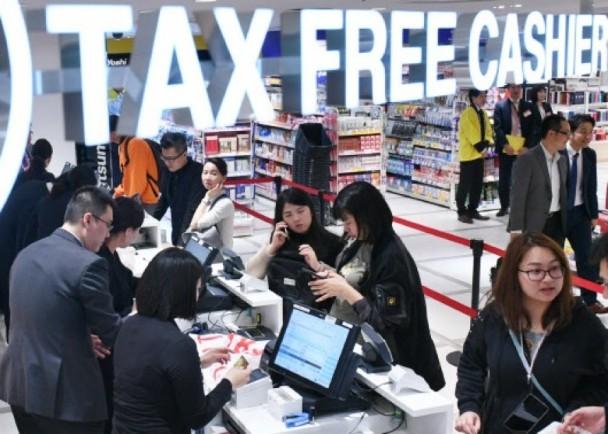 日本要扩大旅客免税,合计满5千日圆就行
