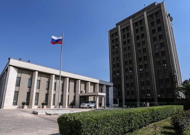 俄罗斯驻叙利亚大使馆竟然遭到炮轰