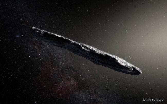 科学家证实  太阳系迎来首个外星访客