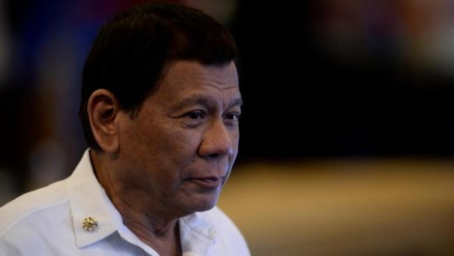 """菲律宾总统给予中国一项""""特权"""""""