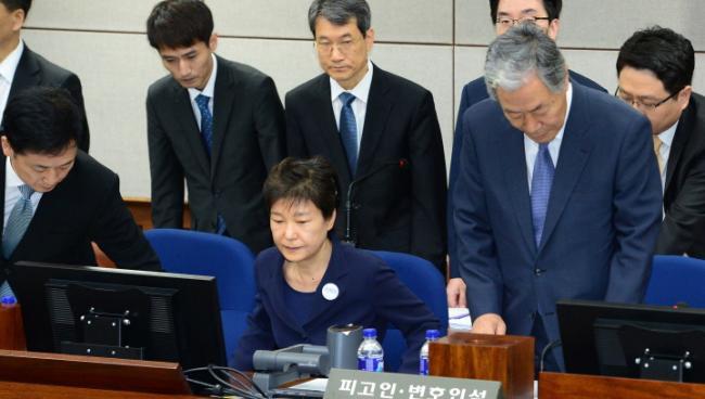 朴槿惠翻身希望渺茫 被判有罪在所难免