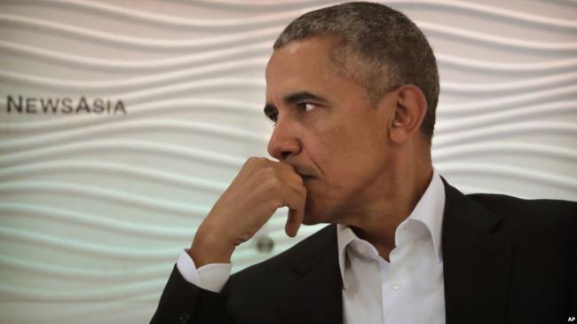 见了习近平后 奥巴马访印见达赖喇嘛