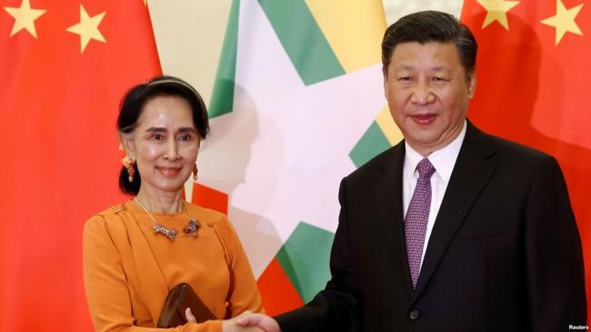 """昂山素季""""钦佩中共""""  进一步靠拢中国"""