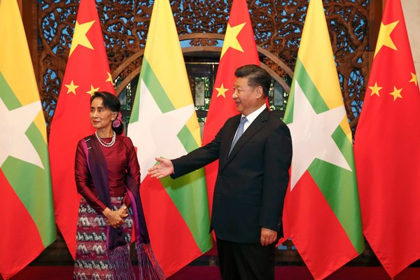 被西方孤立!缅甸扭头跟中国一起玩
