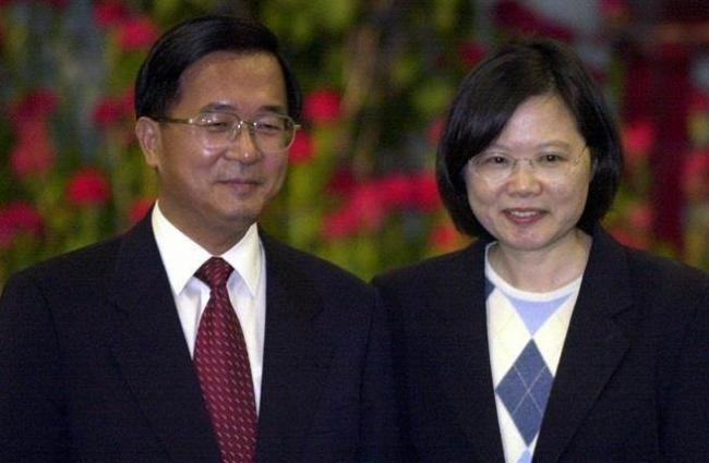 陈水扁蔡英文1招用10年  把人民当猴耍