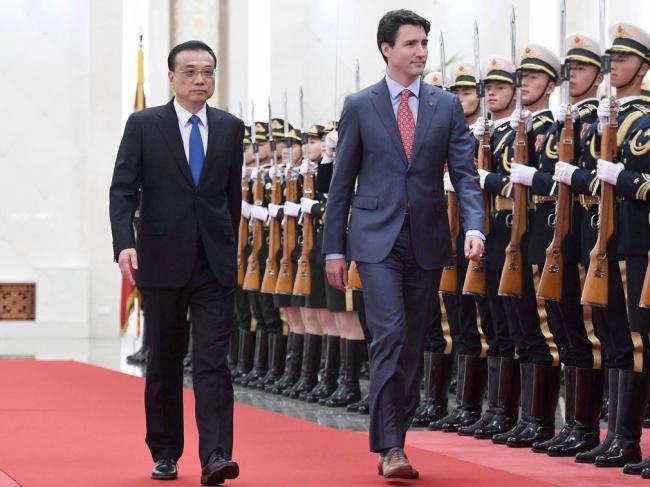 加拿大媒体揭特鲁多访华的3个尴尬瞬间