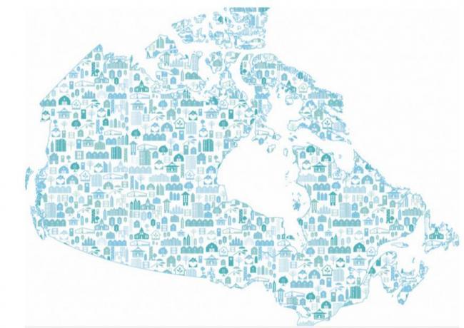 加拿大物业税率最高和最低的地区是哪里