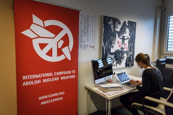 诺贝尔和平奖给废核组织 5大核国拒出席