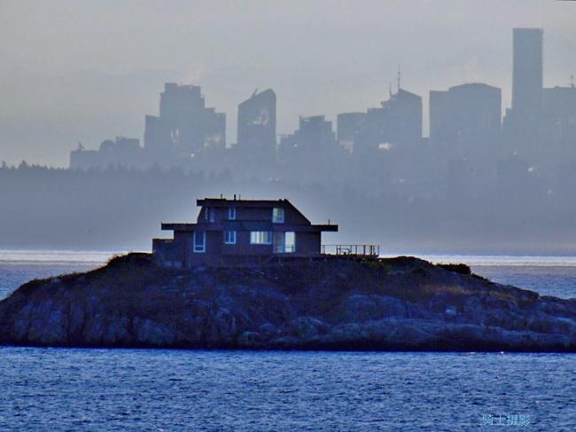 往返溫哥華輪船甲板上的奇思異想