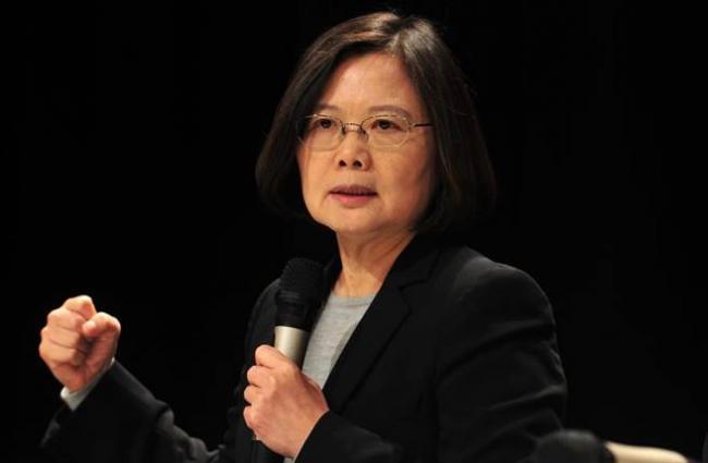 蔡英文献媚:印太战略台湾可做更多贡献