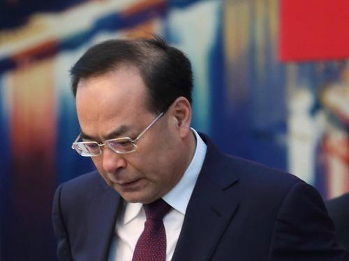 孙政才惨被用经济犯罪包装了政治犯罪