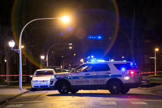 芝加哥枪案频发 血腥圣诞周末已有2人死亡12人受伤