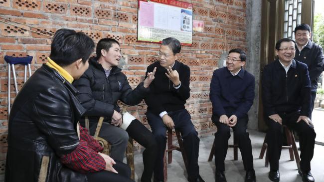 赵乐际赴福建调研 宣布一重要决定