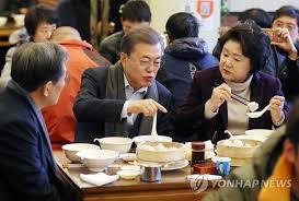 文在寅北京吃早餐  暴露韩国落后于中国