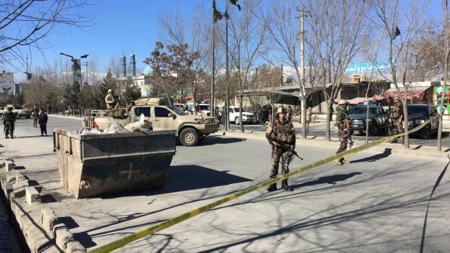 阿富汗首都连环大恐袭已41死 IS宣称负责