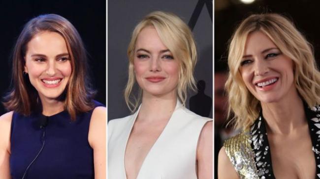 好莱坞女星登整版广告发起抗性骚扰运动