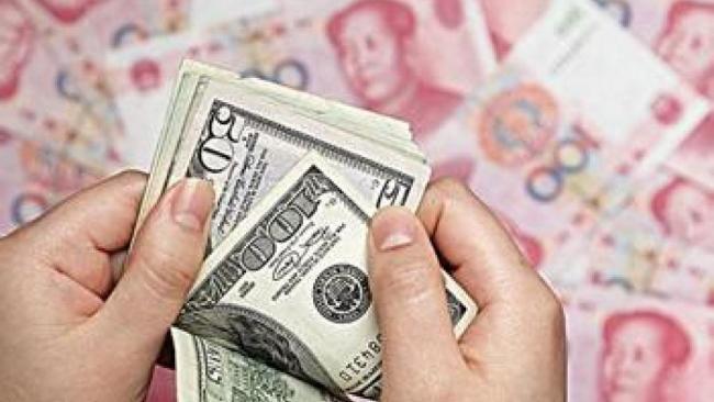 人民币对美元汇率冲上一年半来最高点
