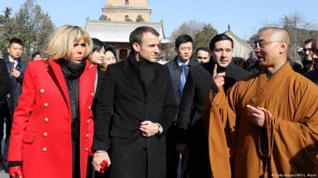 马克龙访华:西安谈丝路,北京赠骏马