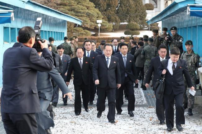 敲定!朝鲜将派代表团参加平昌冬奥会