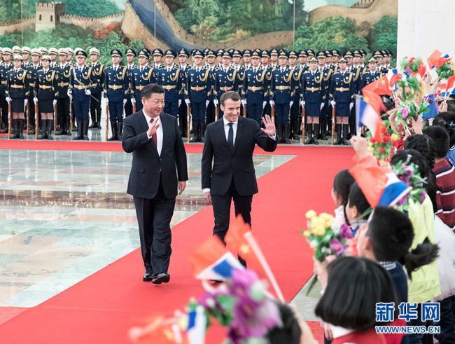 马克龙访中国  取代默克尔成欧洲领头羊
