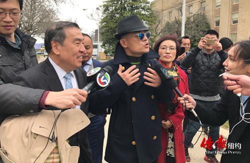 长岛大陪审团正式起诉周立波 今日出庭