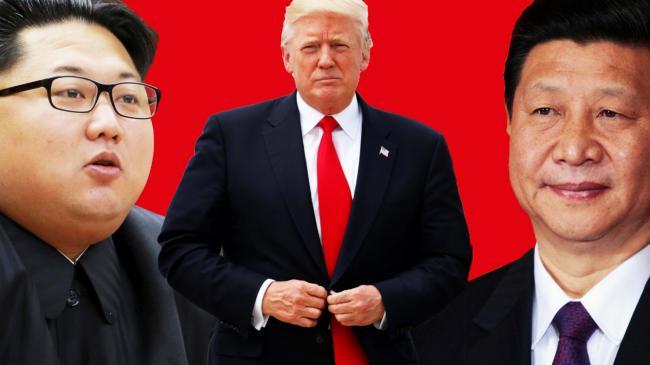 中国大幅减少对朝贸易,美国欢呼