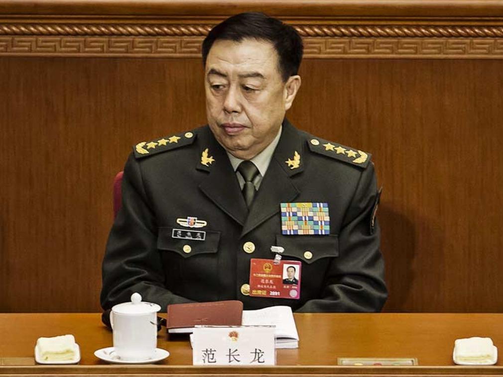 港媒:范长龙落马 徐才厚嫡系房峰辉供出