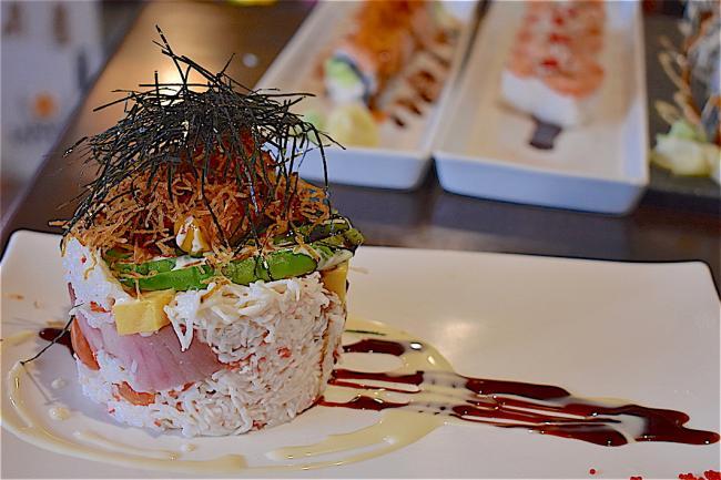 giwa 11 tower sashimi.JPG