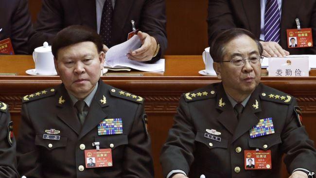 房峰辉,被中共否定的第九个解放军上将(28图)