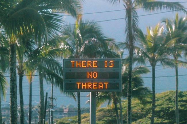 """夏威夷""""乌龙""""警报背后 真实的核战风险"""