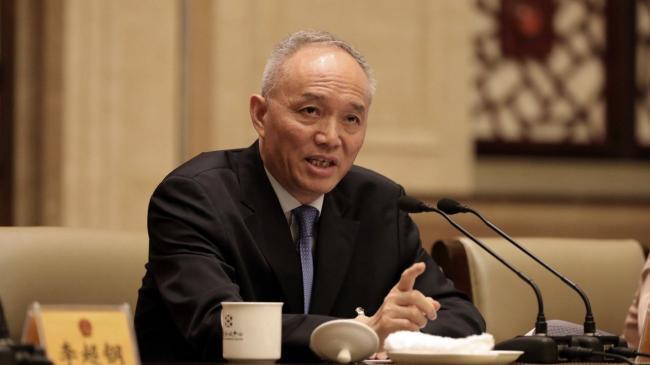 北京市委书记蔡奇带头自我批评