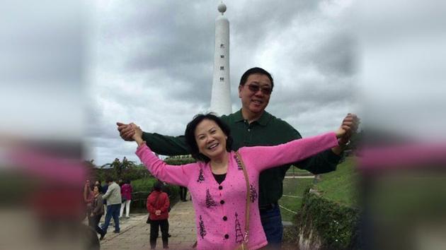 华裔夫妻命案监控录像公布  警寻2嫌犯