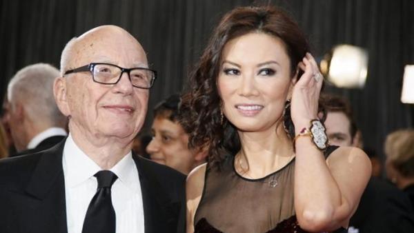曾见江泽民 默多克直指邓文迪是中国间谍