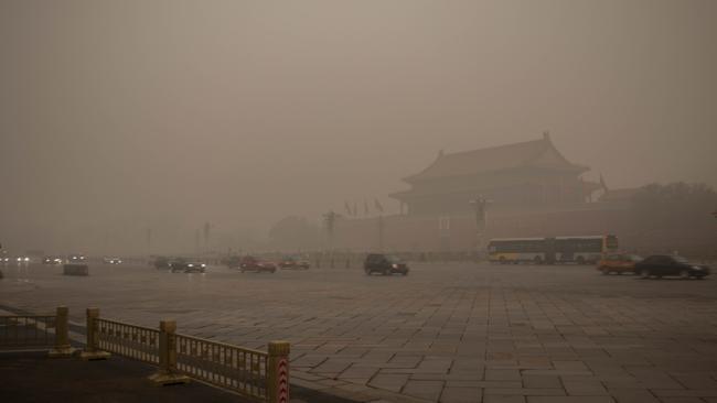 2017年中国城市PM2.5浓度排名出炉