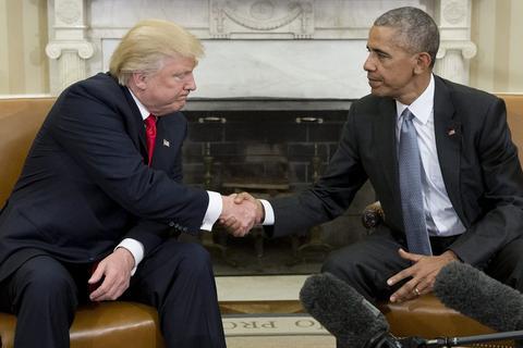 奥巴马将重返政坛?川普要寝食难安了